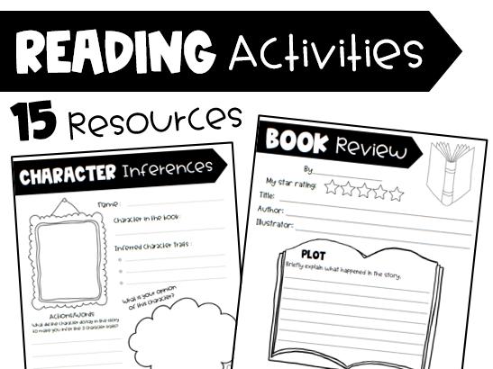 Reading Activities - 15 resources