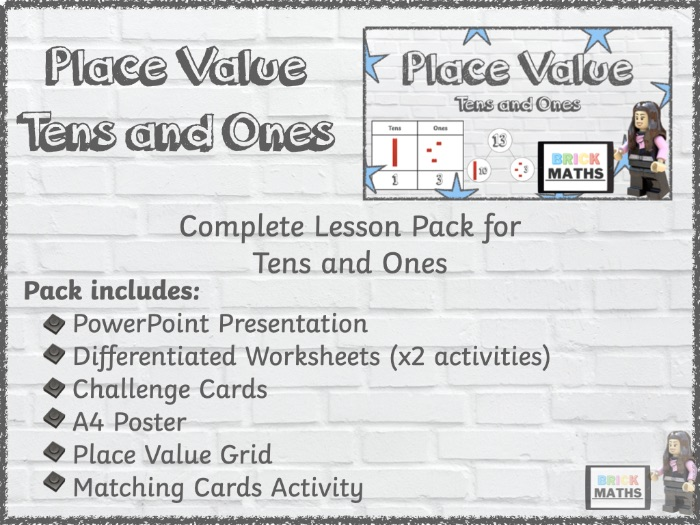 Y1 Place Value - Tens and Ones - Year 1