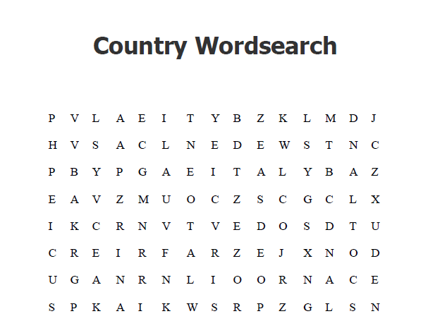 Word Search Bundle with Solutions
