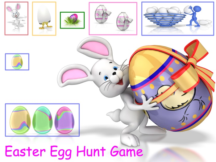 Easter Game - Easter Egg Hunt Animated PowerPoint