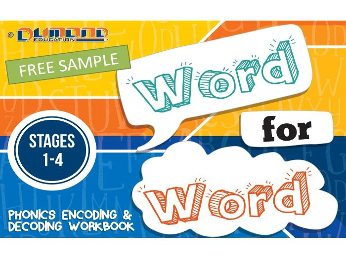 Word for Word Decoding and Encoding Workbook - Sample