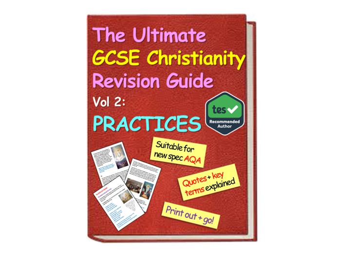 AQA Christianity - Practices Christianity GCSE AQA