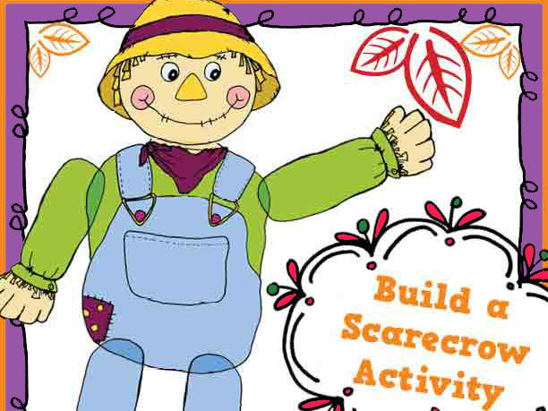 Scarecrow building activity