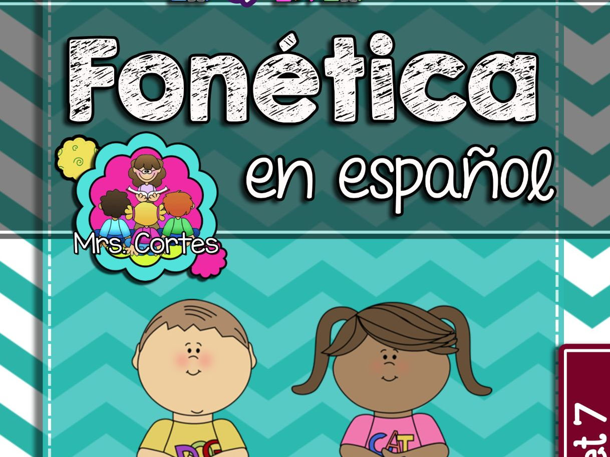 Spanish Phonics Book Bundle # 3: Sets 7, 8, and 9