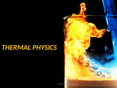 IBDP -Thermal Physics Practice Sheet / Revision Test Exam Style and Ans Key
