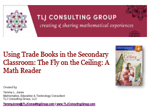 Using Trade Books in the Secondary CR: The Fly on the Ceiling: A Math Reader