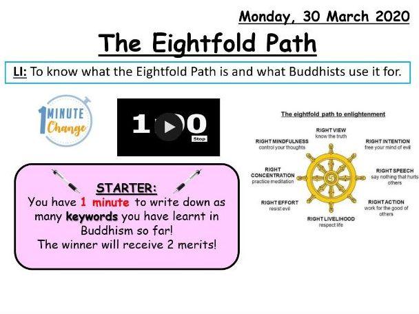The Eightfold Path (KS3)