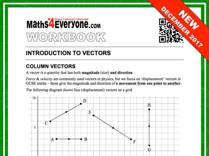 Vectors (Workbook)
