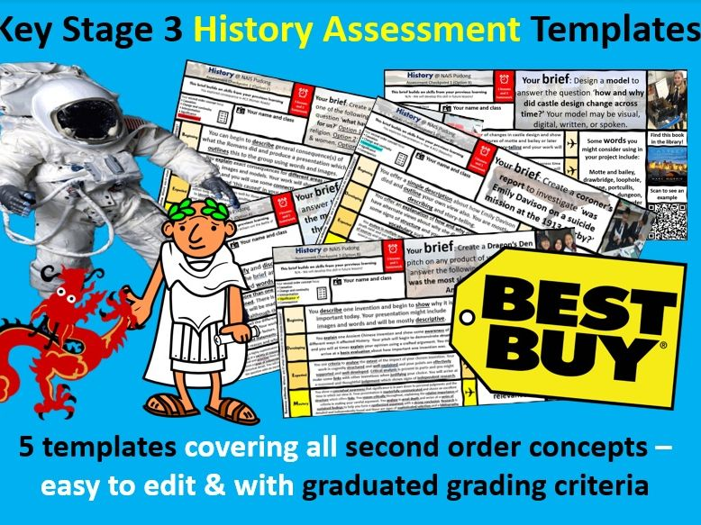 KS3 History Assessments Bundle