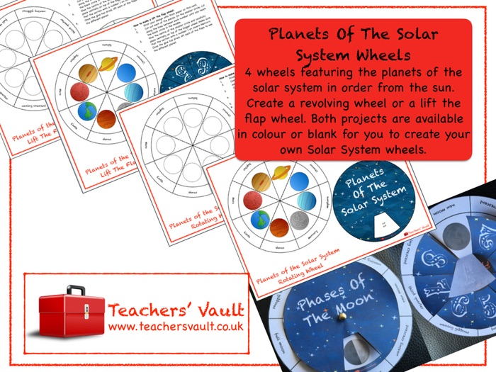 Planets of the solar system wheels by helenrachelcrossley teaching planets of the solar system wheels by helenrachelcrossley teaching resources tes ccuart Images