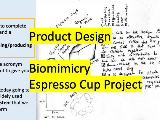Biomimicry Espresso Cup Project  L2