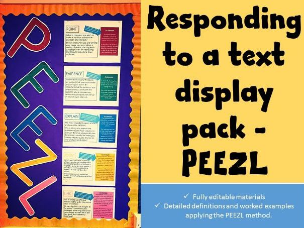 English Display Materials - PEEZL
