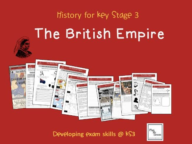 The British Empire lesson and teaching resource book