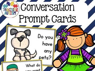 Conversation Prompt Cards