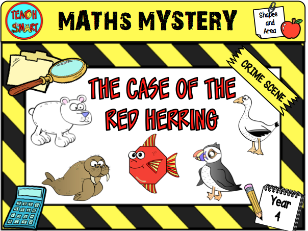 The Case of the Red Herring Year 4 Maths Mystery