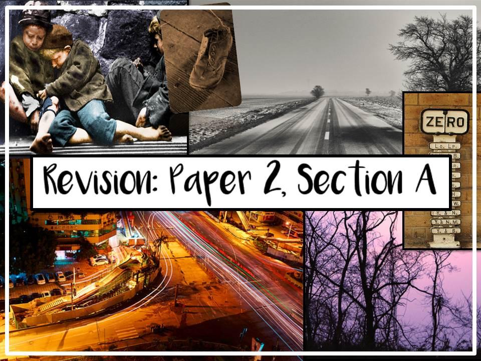 AQA GCSE English Language Paper 2, Section A Revision Lesson - 3