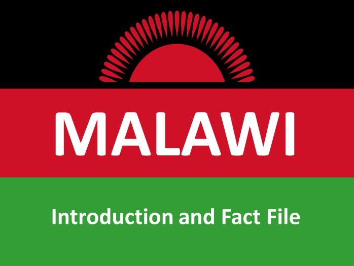 Malawi Factfile KS3 + S1 + S2 Worksheet and Powerpoint