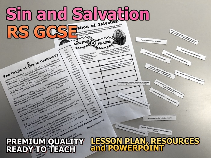Sin and Salvation AQA 9-1 GCSE (Beliefs and Teachings 1.11)