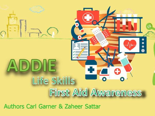 Addie the Alien - First Aid for Students