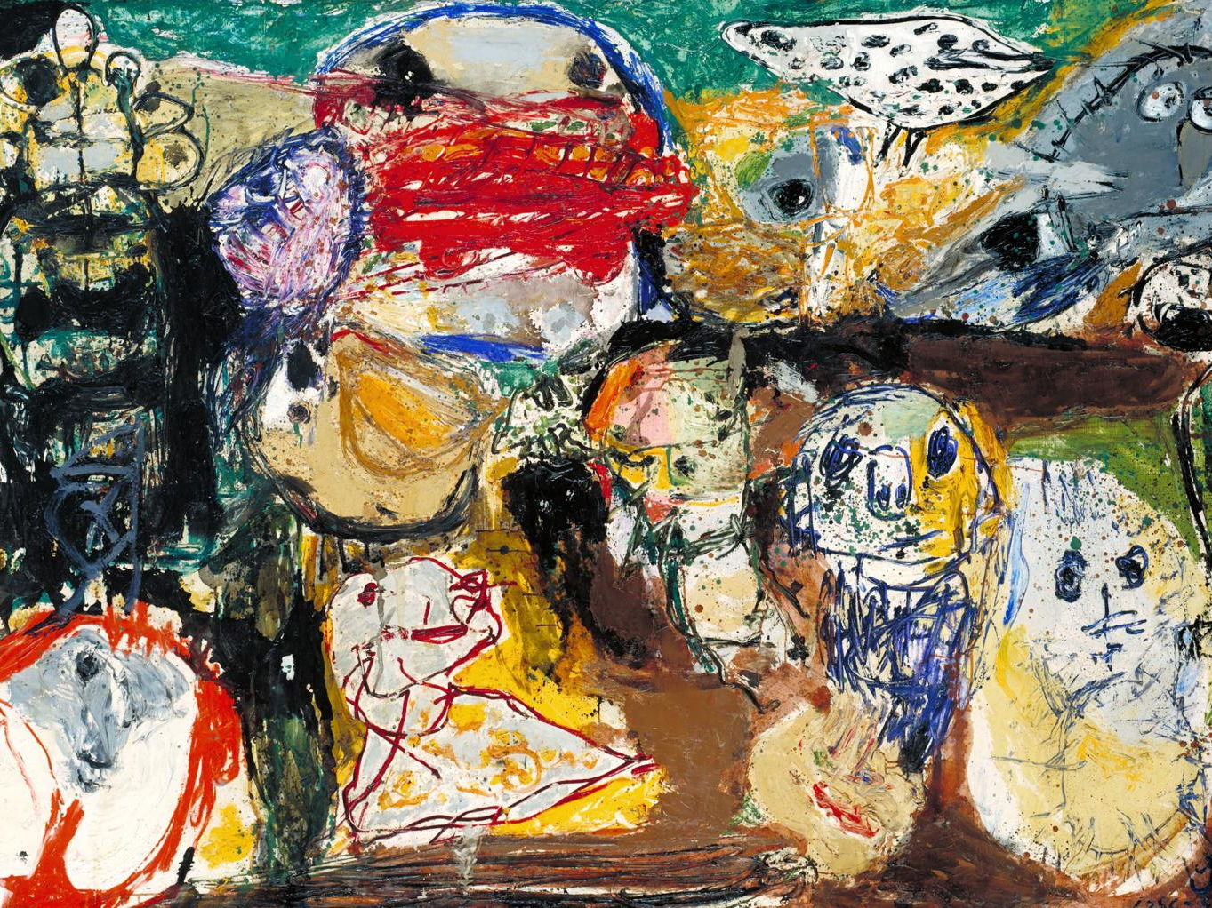 Asger Jorn, his sourced artist quotes on painting, art & life + facts & histories by the painter
