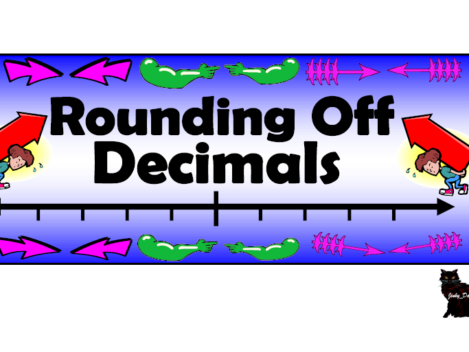 Rounding Off Decimals Pack