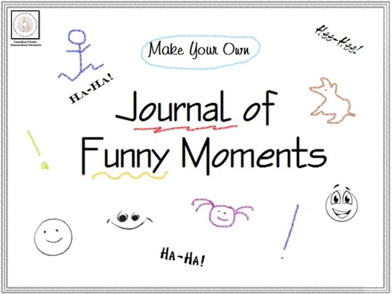 Make Your Own Journal of Funny Moments