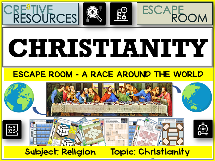 Christianity RE Escape Room