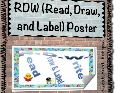 Read Draw Write (RDW) Poster