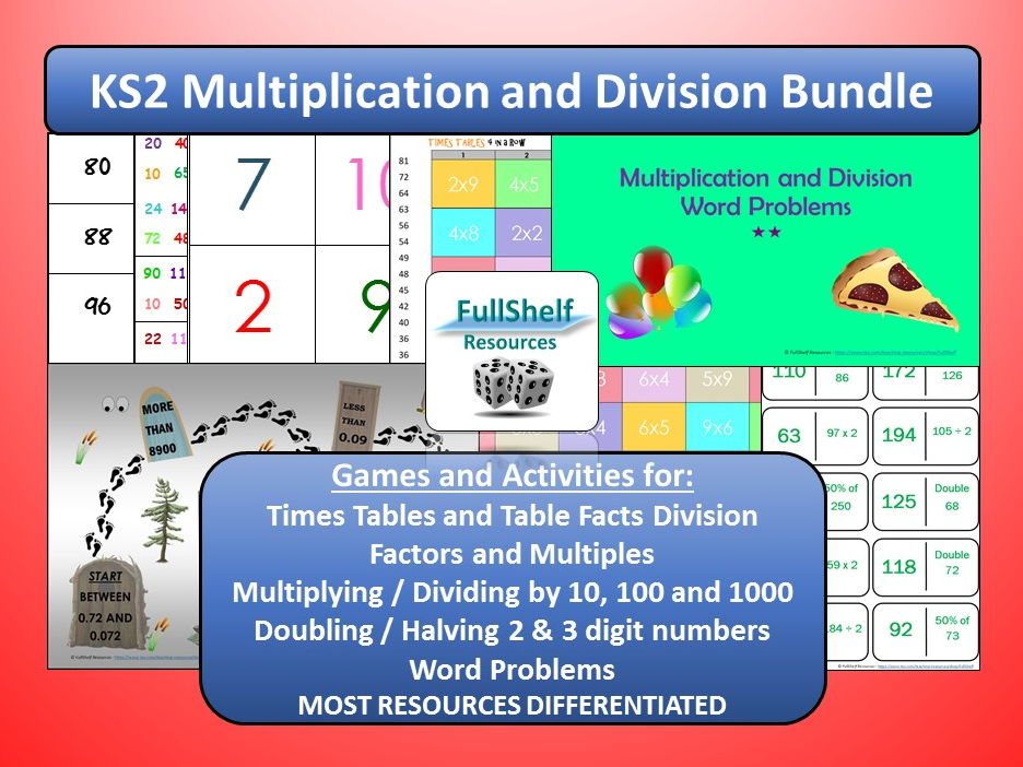 KS2 Multiplication / Division Bundle
