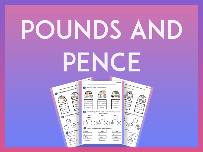 Pounds and Pence - Year 4 KS2