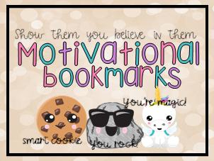 SATS Testing Motivational Bookmarks