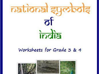 National Symbols of India - Worksheets