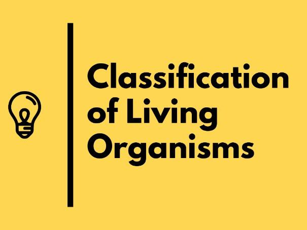 Classification of Living Organisms  IGCSE Biology Revision Notes