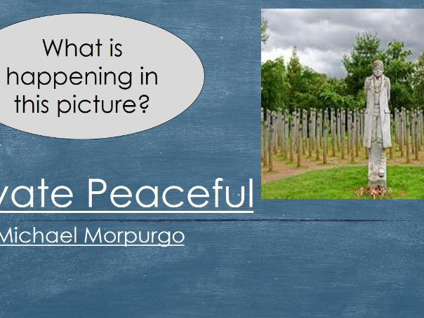Shot at Dawn lesson- Summary of Private Peaceful