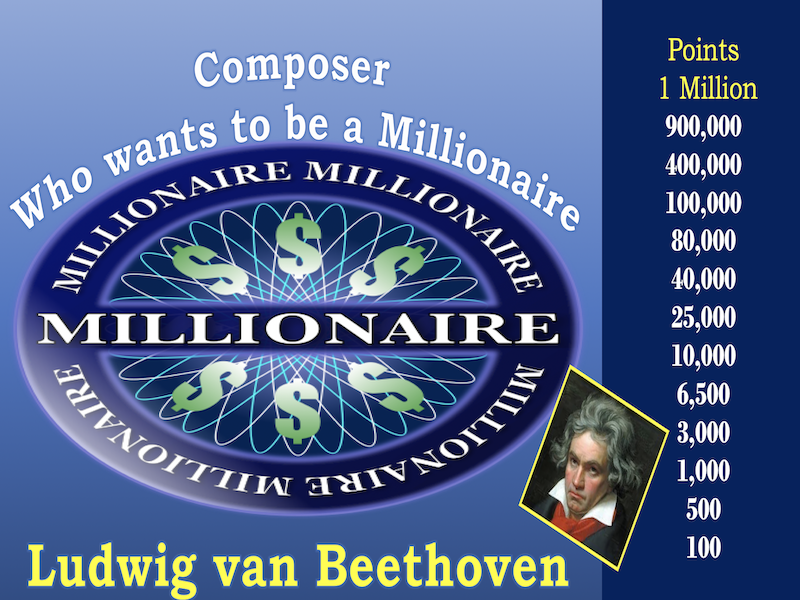 Composer Who Wants to be a Millionaire Beethoven Review