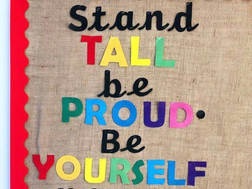 Stand Tall Be Proud Display
