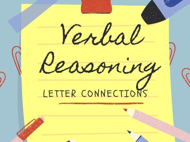 11+ Verbal Reasoning - Letter Connections
