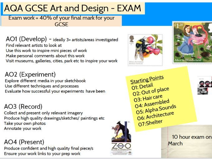 Aqa Art And Design Exam Paper 2019