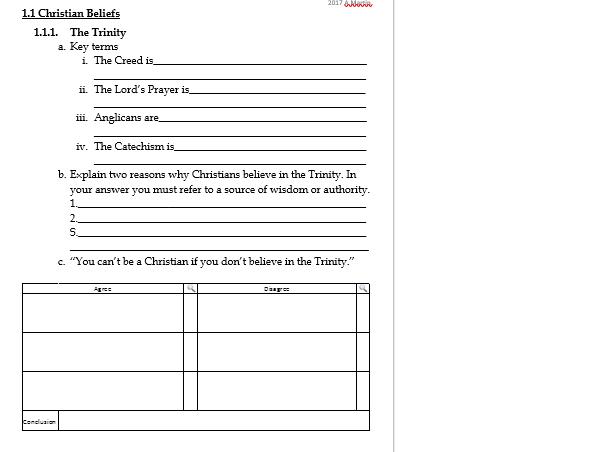 Non religious arguments against LAD - Revision work sheet  EDEXCEL GCSE RS B Christianity