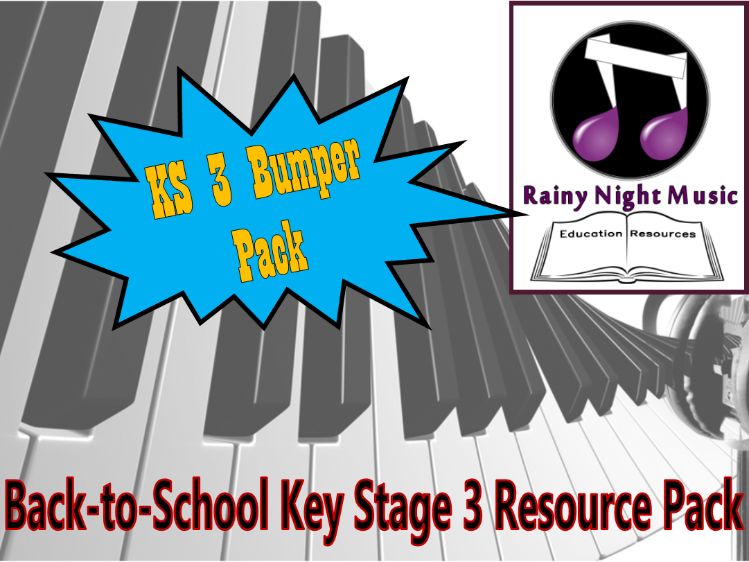 Key Stage 3 - BUMPER PACK