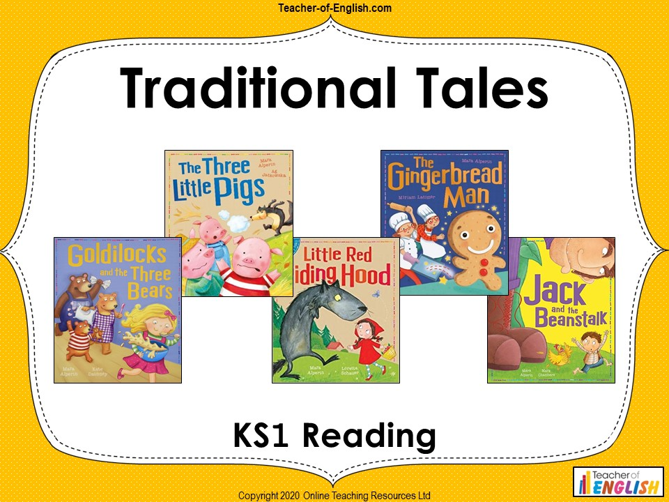 Year 1 Traditional Tales