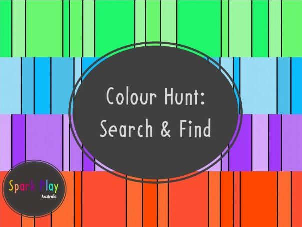 Colour Hunt: Search & Find Colours