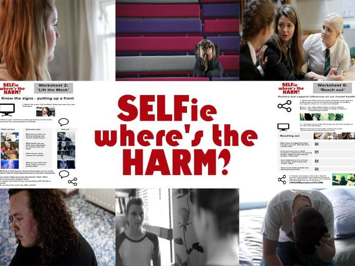 SELFie Where's the HARM?  A young people's mental health film and learning resource.
