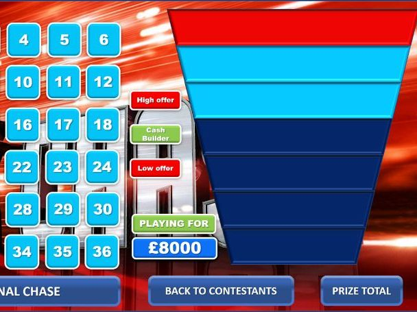 The Chase Quiz Template