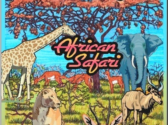 """African Safari"" Art & Nature-Science Unit"