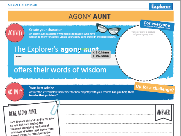 Free_Make your own newspaper_Activity pack