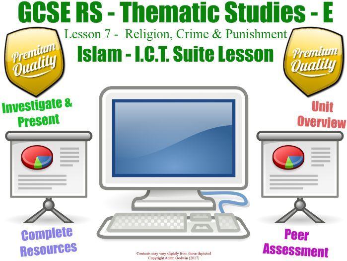 Islam - Religion, Crime & Punishment - Unit Overview / Revision  (GCSE RS - L7/7] (Muslim Views)