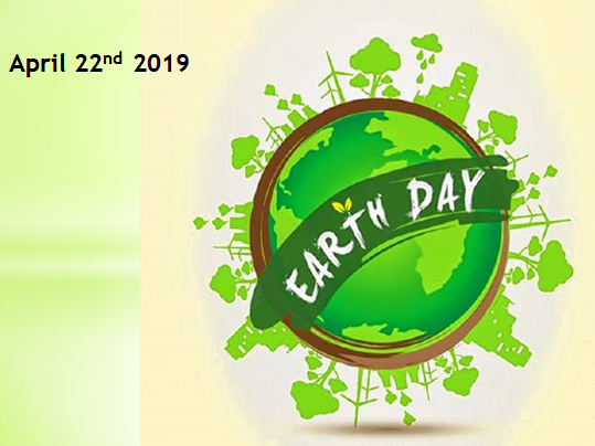 Earth Day Assembly - 22nd April 2019 - Key Stages 3, 4 and 5.