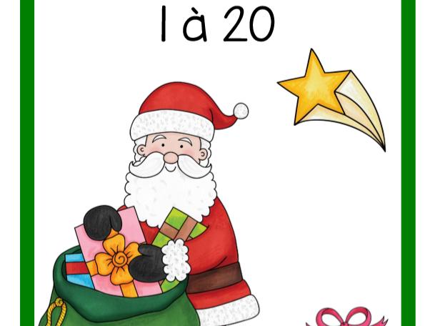 Dénombrement 1 à 20 (Noël)