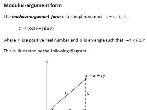 Edexcel Further Core Pure AS Topic 1: Complex Numbers